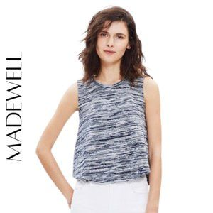MADEWELL Marty Space Dyed Knit Tank Top, XS